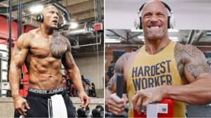 The Rock 'Piledrived' Someone On The Gym Floor After They Said Wrestling Was Fake