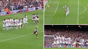 Five Years Ago, Dimitri Payet Lifted The Ball Over 7-Man Wall To Score One Of The All-Time Great Free-Kicks