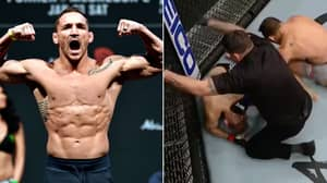 Michael Chandler Marks UFC Debut With HUGE First-Round Stoppage Of Dan Hooker