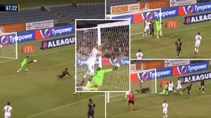 Incredible Moment In A-League Game Somehow Doesn't End In A Goal