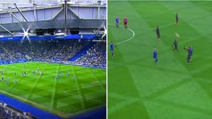 People Are Struggling To Watch Leicester vs Chelsea Because Of The Pitch Patterns