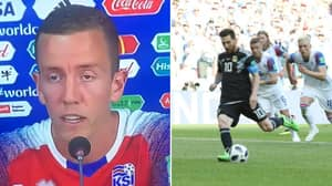What Hannes Halldorsson Has Said About Saving Lionel Messi's Penalty