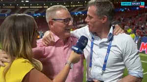 Jamie Carragher Crashes Interview With Jordan Henderson's Dad After Liverpool Win Champions League