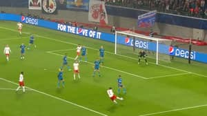 Marcel Sabitzer Scores Absolute Scorching Winning Goal For RB Leipzig