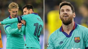 Lionel Messi Thrived In New Partnership With Frenkie De Jong In Borussia Dortmund Clash
