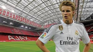 Real Madrid Youngster Martin Odegaard Looks Set For Ajax Move