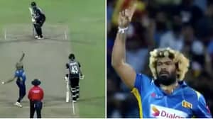 Lasith Malinga Takes Four Wickets In Four Balls Against New Zealand