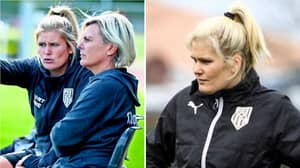 """Woman Who Coaches Men's Football Team Puts Journalist In His Place: """"I Pick The Team On Penis Size"""""""