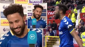 Andros Townsend Pays Incredible Tribute To 'Idol' Cristiano Ronaldo In Wholesome Post-Match Interview
