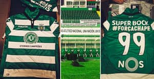 The Shirts Sporting Lisbon Will Wear For Their League Game Are Class