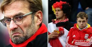 OFFICIAL: Jurgen Klopp At Liverpool Is Worse Than Moyes At Manchester United
