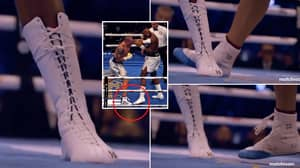 Close-Up Video Shows The Contrast Of Footwork Between Joshua And Usyk, It's Extremely Telling
