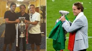 Roberto Mancini's Son Had Wembley Seat Stolen By Ticketless England Fans