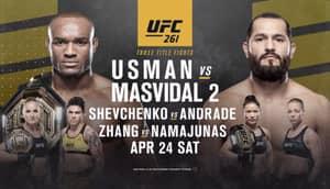 UFC 261: Usman Vs Masvidal UK Time, Fight Card, Stream Info And Latest News