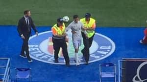 Fake Cristiano Ronaldo Arrested On Touchline Of Real Madrid Vs Getafe