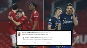 Twitter Account 'Has The 9-0 Been Mentioned' Goes Viral After Manchester United Put 9 Past Southampton