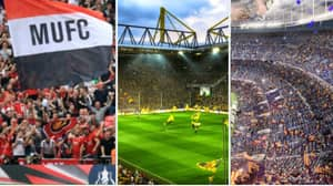 Top 50 Clubs With Highest Average Attendances Over Last Five Years