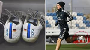 Toni Kroos Finally Changes His Boots After Wearing The Same Pair Since 2014