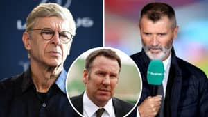 Arsene Wenger Finally Responds To Paul Merson's Claim That Roy Keane Wouldn't Work At Arsenal