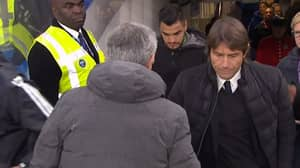 The Reason Why Antonio Conte Didn't Shake Hands With Jose Mourinho At Full-Time