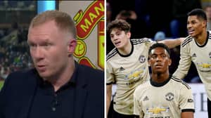"Paul Scholes Believes Manchester United's Front Three Is ""As Good As Any In Europe"""