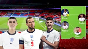 Gareth Southgate Urged To 'Take Handbrake Off' And Field Exciting England Euro 2020 XI
