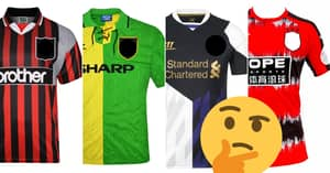 QUIZ: Can You Name 20 Premier League Clubs By Their Classic Away Kit?