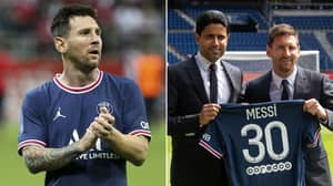 PSG Sign Mega-Lucrative Cryptocurrency Sponsorship Deal, Contract INCREASED After They Signed Lionel Messi