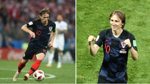 Luka Modric Has Ran 39.1 Miles In This World Cup