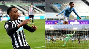 Newcastle And Manchester City Play Out Seven-Goal Thriller At St James' Park