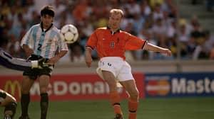 OTD: Dennis Bergkamp Scores A Wonderful Goal To Sink Argentina At France 98'