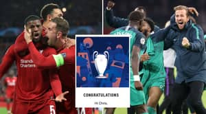 Everyone Who Entered Competition To Win Champions League Final Tickets Told They've Won