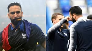 France's Bizarre Good Luck Charm Involved Adil Rami's Moustache