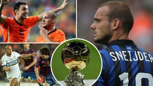 Fan's Incredible Twitter Thread 'Proves' Wesley Sneijder Was 'The Man Robbed Of A Ballon d'Or'