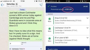 Punter Has Bizarre Dream About Predicting Two Matches, Puts Bets On Both And Wins Both