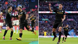 Manchester City Win The Carabao Cup With 2-1 Win Over Aston Villa