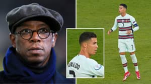 Ian Wright Points Out The 'Myth' In Cristiano Ronaldo's Overall Game