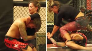 When Four Guys Fought Ex-UFC Star Miesha Tate Inside The Octagon