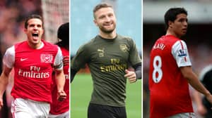 Arsenal's Team Of The Decade Includes Shkodran Mustafi And Samir Nasri