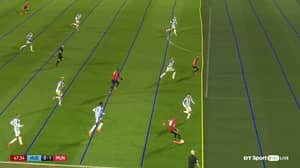 No One Can Believe The VAR Lines On Manchester United's Offside Goal