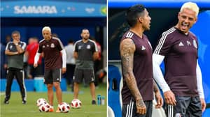 Javier Hernandez And Some Mexico Players Have Made Crazy Changes To Their Hair