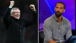 Rio Ferdinand Described The Moment Sir Alex Ferguson Proved Him Wrong