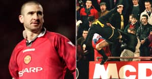 Eric Cantona Says His Only Regret Is Not Kicking Crystal Palace Fan Harder