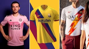 The Best Kits In Europe Of The 2018/19 Season