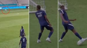 Paul Pogba's Sorcery-Like First Touch In France Training Needs Explaining