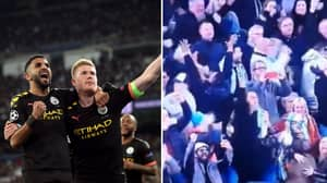 Manchester City Fans Mocked For 'Scenes' In Away End After Kevin De Bruyne Penalty
