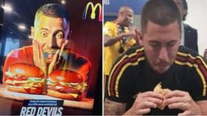 Eden Hazard Is The Poster Boy For McDonald's In Belgium