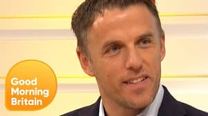 Phil Neville Loved Trolling Piers Morgan During Manchester United vs. Arsenal