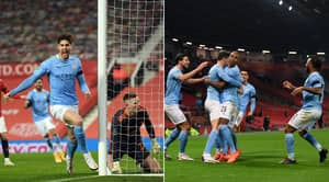 Manchester City On Course For Fourth Successive League Cup Win After Beating Neighbours United In Semi-Final At Old Trafford