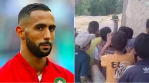 Mehdi Benatia Pays For Small Village In Morocco To Watch AFCON Game Against South Africa